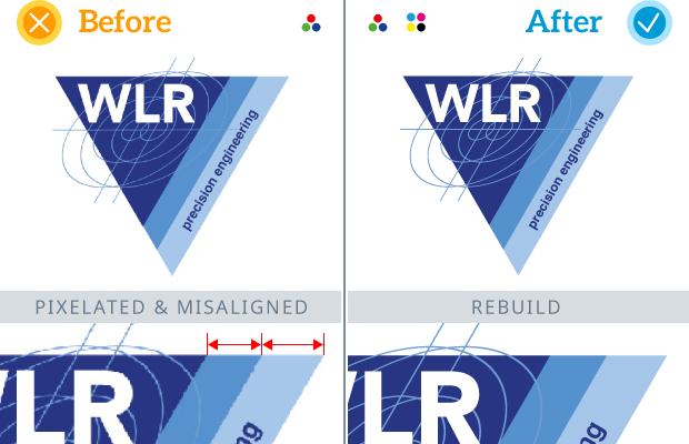 Example Logo Rebuild - WLR